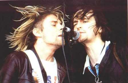 Cobain e Kelly a Reading 1991